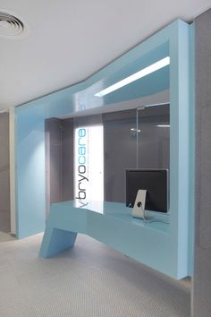 Healthcare Interiors - Departmental Reception Desk - New Direction In Healthcare Design