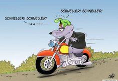 Uli Stein — Cartoons & Fotografie | CARTOONS - ulistein.de Beste Comics, Humor, Haha, Funny, Illustration, Biker, Anime, Facts, Funny Maps
