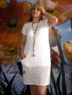 Captivating Crochet a Bodycon Dress Top Ideas. Dazzling Crochet a Bodycon Dress Top Ideas. Filet Crochet, Beau Crochet, Mode Crochet, Diy Crochet, Crochet Stitches, Crochet Top, Crochet Summer, Diy Dress, Dress Skirt