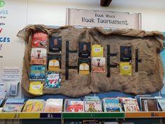 We ran a small version with some of the shortlisted titles for the year and the students absolutely loved it and it gave them all a chance to enjoy some fantastic stories! Book Week, Students, Books, Libros, Book, Book Illustrations, Libri