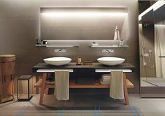 Today's trends Cocoon-style bathroom | Axor, collection Citterio E