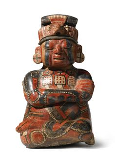 Maya Two- part Figural vessel,<br>Early Classic, ca. A.D. 250-450 | Lot | Sotheby's