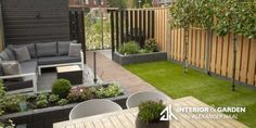 Garden design and construction – The Hague Small Garden Plans, Backyard Ideas For Small Yards, Small Backyard Landscaping, Landscaping Ideas, Garden Design Ideas Uk, Modern Garden Design, Contemporary Garden, La Haye, Backyard Vegetable Gardens