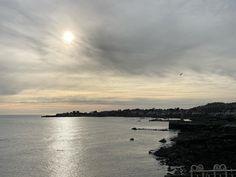 Balors eye gazes over St. Patricks day #discoverdublin #discoverireland #sunrise #seascape #dunlaoghaire Dublin, Ireland, Sunrise, Celestial, Eyes, Beach, Water, Outdoor, Instagram