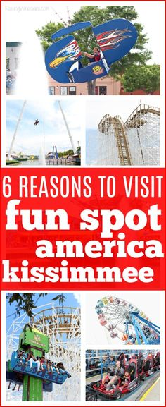 6 Reasons to Visit Fun Spot America Kissimmee with Your Family | Tips to make the most of your Orlando vacation #LoveFL #ad @VISITFLORIDA