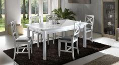 Tavolo rettangolare allungabile art. 22001
