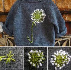 Yarn embroidery