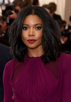 How To Get Gabrielle Union's MET Gala Razored Bob Cut Channeling her inner rock star, Gabrielle revealed an edgy style by celebrity hairstylist, Larry Sims at the 2015 MET Gala.