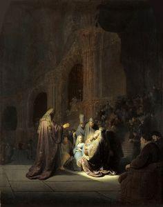 Хвалебная песнь Симона. Харменс ван Рейн Рембрандт