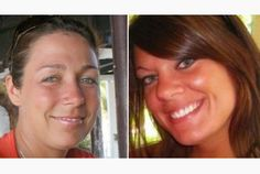 Marie-France Comeau (left) and Jessica Lloyd...these two Brave Women tried to prevent their own murders, at the hands of a monster.  Rest in Peace, both.