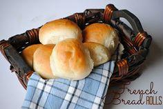 The Farm Girl Recipes: French Bread Rolls