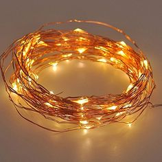 IREALIST Copper Wire Starry LED String Light 100 Leds 33 ft Rope Lights For Seasonal Decorative Christmas Holiday Wedding Parties ** Instant Savings available here : Christmas Home Decor