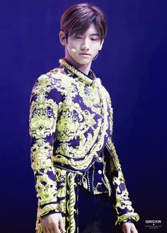 Changmin honey, you look like a godddamn matador.