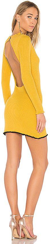 For Love & Lemons Ruffle Edge Mini Dress $150.00 http://shopstyle.it/l/rTZ1