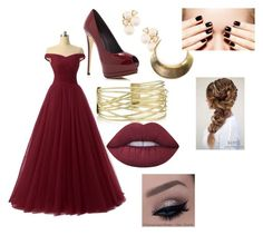 """Formal"" by olivia-huffer on Polyvore featuring Giuseppe Zanotti, Anne Klein and Lime Crime"