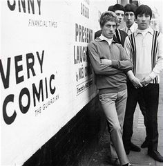 Roger Daltrey, John Entwistle, Pete Townshend and Keith Moon of the rock and roll band 'The Who' pose for a portrait in circa 1965.