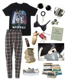 """""""•Society sucks•"""" by kristeldabinet ❤ liked on Polyvore featuring Vans"""