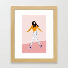 FLY I Framed Art Print
