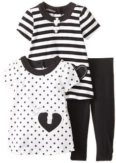 Goth Shopaholic: Cute Black and White Striped Dresses for Goth Babies in Summertime
