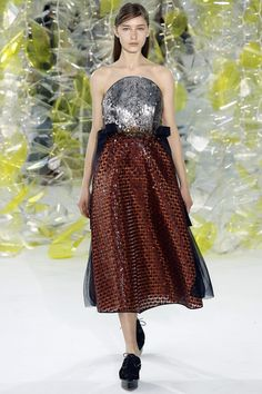 Delpozo Fall 2016 Ready-to-Wear Fashion Show - Sofia Tesmenitskaya