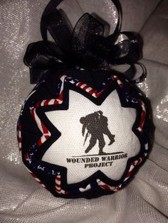 Wounded Warrior Ornament  by WreathsByKari on Etsy, $16.99