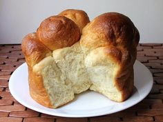 Orange Pull-Apart Loaf — Recipe from Serious Eats Loaf Bread Recipe, Loaf Recipes, Pan Bread, Yeast Bread, Bun In The Oven, Pull Apart Bread, What's For Breakfast, Serious Eats, How To Make Bread