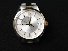 Tag Heuer Carrera WV215A Watch Mens Automatic Wind 18K Gold Stainless Cal 5 #Tag #heuer #watch #carrera  0224