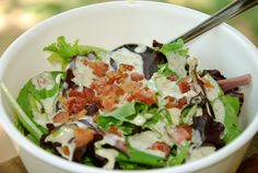 Bacon Cilantro Dressing