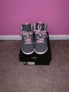 c8a66c7aea82c8 Nike air jordan spizike Gs Grey Pink Purple 6Y  fashion  clothing  shoes   accessories  kidsclothingshoesaccs  girlsshoes (ebay link)