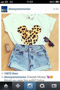 Disneyworld outfit
