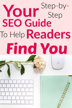 Attract your ideal clients, readers, and fans with the SEO playbook from Megabolt Digital. This SEO Guide is an easy to follow process to simplify your planning: you'll know what to talk about, how to write it, and where to promote it so that your website will get more traffic (and sales!) from Google. #megaboltdigital #seo #blogtraffic #googletraffic #mbdaffiliate