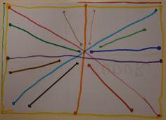 Hemos incorporado un nuevo elemento en nuestra clase: LA REGLA . Lo primero que hice al enseñársela es preguntarles si sabían para que se u...