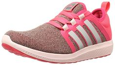 adidas Performance Women's Fresh Bounce W Running Shoe, Shock Red/Metallic Silver/Halo Pink S, 8 M US - Brought to you by Avarsha.com