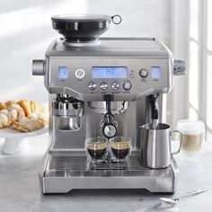 Breville BES980XL Oracle Espresso Machine, Silver - http://teacoffeestore.com/breville-bes980xl-oracle-espresso-machine-silver/