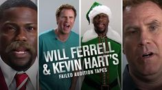 Will Ferrell and Kevin Hart dropped by our #fodsxsw party last night to premiere this exclusive video.  Turns out before starring together in 'Get Hard,' Will and Kevin competed against each other for some of their most iconic roles.