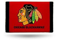 Chicago Blackhawks Nylon Trifold Wallet