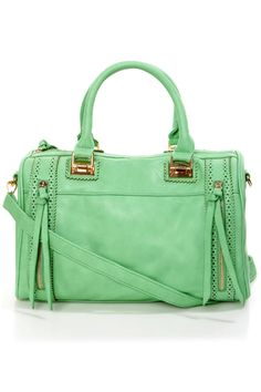 fe270696696 Roomy Mint Green Handbag - Oversized Handbag - Structured Handbag - Mint  Tote Mint Purse,