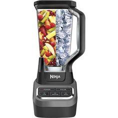 Ninja - Professional 1000 3-Speed Blender - Black/Silver - Larger Front