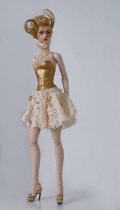 Fashion Doll ◉◡◉ so different! Tonner OOAK Barbie doll