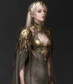 Fantasy Queen, Fantasy Witch, Elves Fantasy, Fantasy Art Women, Fantasy Girl, Dark Fantasy, Witch Characters, Fantasy Characters, Weiblicher Elf