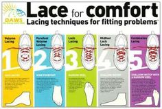 ways to lace up your running shoes