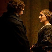 Ralph Fiennes and Kristin Scott Thomas in The Invisible Woman (2013)