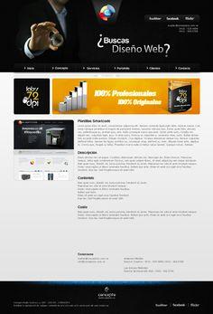 Web concepto - servicios