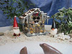Winter comes to Wee Brigadoon Fairy Garden