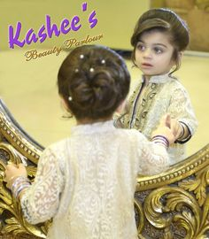 Pin by Mahwish Syed on Beautiful Coiffures Wedding dresses for baby girl hair style in pakistan - Baby Hair Style Baby Girl Wedding Dress, Baby Girl Hair, Wedding Dresses For Girls, Baby Girl Dresses, Baby Dress, Bridal Dresses, Flower Girl Dresses, Pakistani Wedding Outfits, Pakistani Girl