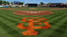 Giants team bus backs into car in Colorado  -  April 21, 2017:  Image:          Mar 12, 2017; Scottsdale, AZ, USA; General view of the field prior to a spring training game between the Arizona Diamondbacks and the San Francisco Giants at Scottsdale Stadium.