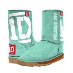 """One Direction UGG's......it's like they took the ugliest shoes of the decade and covered them with the dumbest """"band"""" of the decade.....hahahaha"""