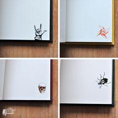 Flip-Book, notebook, Pracownia Leśna 6 https://www.etsy.com/shop/PracowniaLesna6