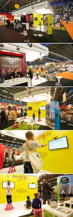 Métromobilité - Alpexpo 2014 - stand interactif