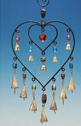 Hearts & Bells Wind Chime